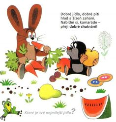 Kouzelná slovíčka: Health Activities, Activities For Kids, Cartoon Characters, Literacy, Fairy Tales, Homeschool, Poems, Clip Art, Classroom