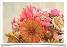 Vintage floral brooch bouquet! Beautiful and you can save it, display it, wear it! :)