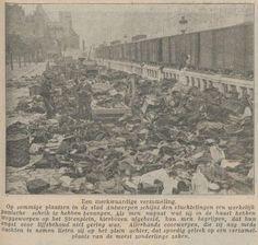 achtergelaten bezittingen op het Steenplein in Antwerpen van Belgische vluchtelingen Tilburgsche Courant 1 november 1914
