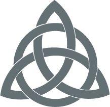 Triqueta, simbolo Celta.