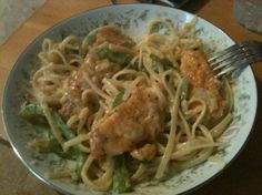 Olive Garden - Chicken Scampi. Tastes just like the real thing. Maybe make extra sauce... it could have used more.