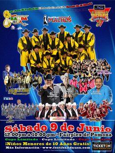 Banda Machos les invita a Festibanda USA 2012 próximo 9 de junio 2012 en el Pomona Fairplex.