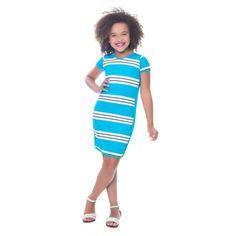 Vestido Esporte Azul Filha - Hapuk