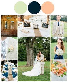 Perfect Wedding Color Themes