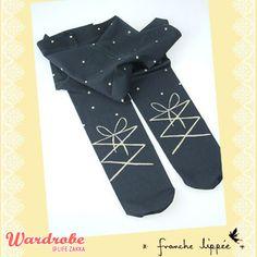 franche lippee 芭蕾舞波點襪褲 $80.27  Wardrobe@LifeZakka