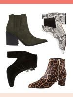 6 New Boot Trends You'll See Everywhere This Fall #refinery29  http://www.refinery29.com/best-fall-booties#slide-15  To mix color, pattern, and texture, try a tapestry print....