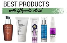 Glycolic acid is a must for dry, sun-damaged skin. But where to find it? Here are my favourite products with glycolic acid.