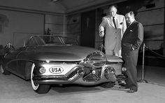 Jet Inspired Design 1951Buick Le Sabre Concept Car