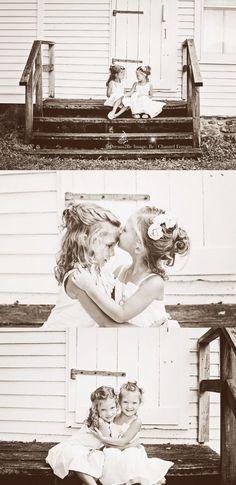 Precious little girls. Sister love! Lewis Family » Dream2Be Image Photography -Chantel Ferraro.