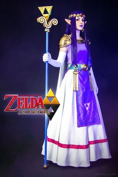 Cosplay princesa Hilda in A Link between worlds