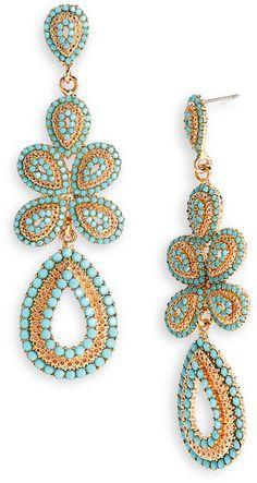 Ornate Linear Earrings