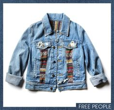Free People - jean jacket words can't explain how badly I want this jacket