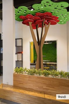 Cultivated from our Bespoke Design Service was our second acoustic tree which is both aesthetically appealing and acoustically functional to help dampen the echo in the room. #interiors #interiordesign #architecture #officedesign #officedecor #workplaceinteriors #14six8 #officeinspiration #officeinteriors #interioracoustics #officeacoustics #acoustics #acousticclouds #suspendedacoustics #suspendedclouds #partitions #acousticdesign #tree #acoustictree