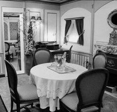#foto che hanno segnato un'epoca Suite di prima classe del Titanic