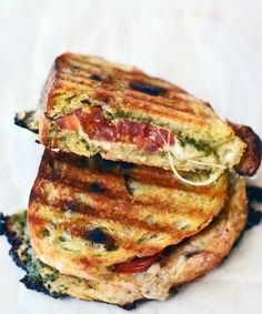 caprese salad grilled cheese