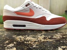 104ba1cdfd7 Nike Air Max 1 ® Size 10.5 UK EU 45.5 Coral-Mars Trainers Men s NEW