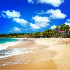 This could be your new morning commute...  #beach #antigua #caribbean #paradise