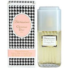 Diorissimo by Christian Dior. Mum had this when I was little, and I've always loved the scent...Lilys of Valley :)