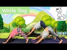 Fun Moves, Childrens Yoga, What Do You See, Yoga For Kids, White Dogs, Brown Bear, Story Time, Books, Animals