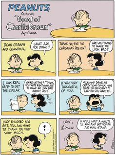 Peanuts Comic Strip, December 29, 2013 on GoComics.com
