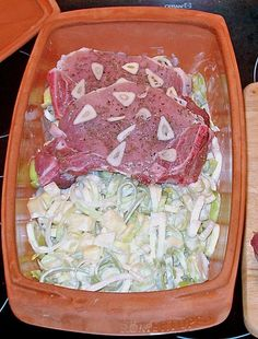 Kotelett im Römertopf mit Meerrettich - Kartoffel - Lauch, ein schmackhaftes Rezept aus der Kategorie Römertopf. Bewertungen: 16. Durchschnitt: Ø 3,8.