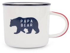 Father's Day Papa Bear Camp Mug