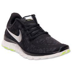 aa7765f8333c Swarovski Nike Free 5.0 Running Shoes by BurbsModernStyle on Etsy Black  Running Shoes, Running Sneakers