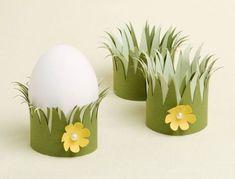 Lavoretti di Pasqua fai da te con rotoli di carta igienica