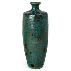 Found it at Wayfair - Ceramic Floor Vase in Blue