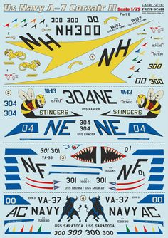 Kitty Hawk, Us Navy, Ranger, Decals, Profile, Tags, Sticker, Decal