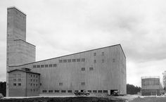 Boliden Anrikningsverk industrial Architecture