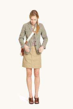 G1 Messenger 2 Blazer & Everyday Skirt  http://www.g1goods.com/