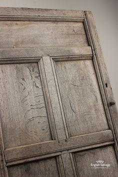 18th Century Small Oak Door / Cupboard Door