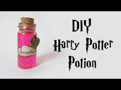 DIY: Poção do Amor - Amortentia (Harry Potter Potion - Bottle Charm) #diyhp #diylove - YouTube