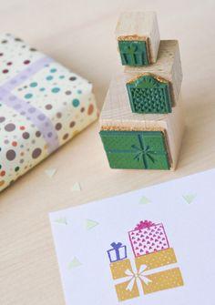 Stempel-Set Geschenke von MOZAÏQ eco design - bei Avocado Store