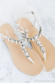 f5ceb58fb711f4 Hera ivory wedding sandal with rows of sparkling oval cut sparkles and  pearls. Versatile for
