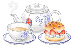 Tea and Scones by pretty-transparents.