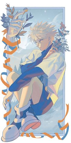 Otaku Anime, Anime Boys, Manga Anime, Anime Amor, Me Anime, Cute Anime Guys, Manga Girl, Hisoka, Killua