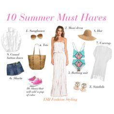 """10 Summer Must Haves"""