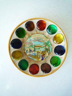 Vintage Jamaica Souvenir Small Plate Ash by ShantyIrishVintage #jamaica #vintagesouvenir #rasta #vintageplate #vintageashtray