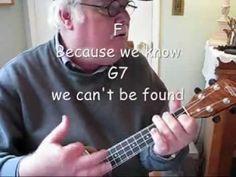 """▶ OCTOPUSES GARDEN for the UKULELE - UKULELE LESSON / TUTORIAL by """"UKULELE MIKE"""" - YouTube"""