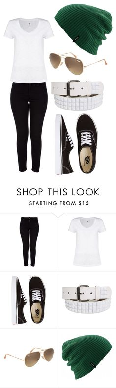 """Plain Jenny (Starbucks with Jc)"" by jesseee-xp ❤ liked on Polyvore featuring Acne Studios, Kin by John Lewis, Vans and Ray-Ban"