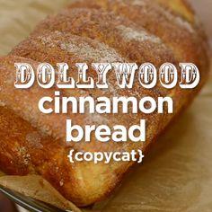 Dollywood's Cinnamon Bread Recipe Bread Machine Recipes, Bread Recipes, Cooking Recipes, Cat Recipes, Frozen Bread Dough, Best Bread Recipe, Copykat Recipes, Beer Bread, Bakery Recipes