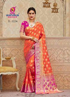 d60beb0ecc ashika sarees mangalam vol 5 2211-2228 series silk cotton wholesale saree  supplier exporter -