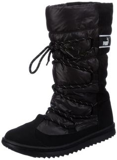 Puma Snow Nylon Boot Wn's 354349, Damen Snowboots, Schwarz (black 01), EU 40.5 (UK 7) (US 9.5) - http://on-line-kaufen.de/puma/40-5-eu-puma-snow-nylon-boot-wns-354349-damen