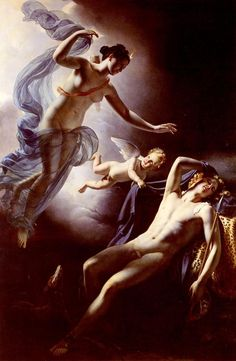 Selene and Endymion Jerome Martin Langlois