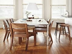 Room And Board Dining Table For Inspire