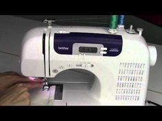 Brother CS 6000i 39 Threading a Double Needle - YouTube