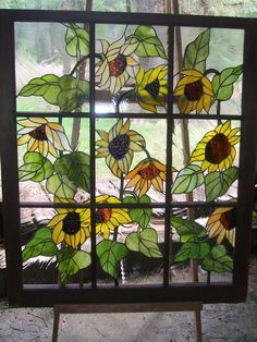 Stained Glass.  I love this it is (so far) my favorite.  Maybe someday I will be able to make it.