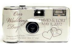 Beautiful wedding camera